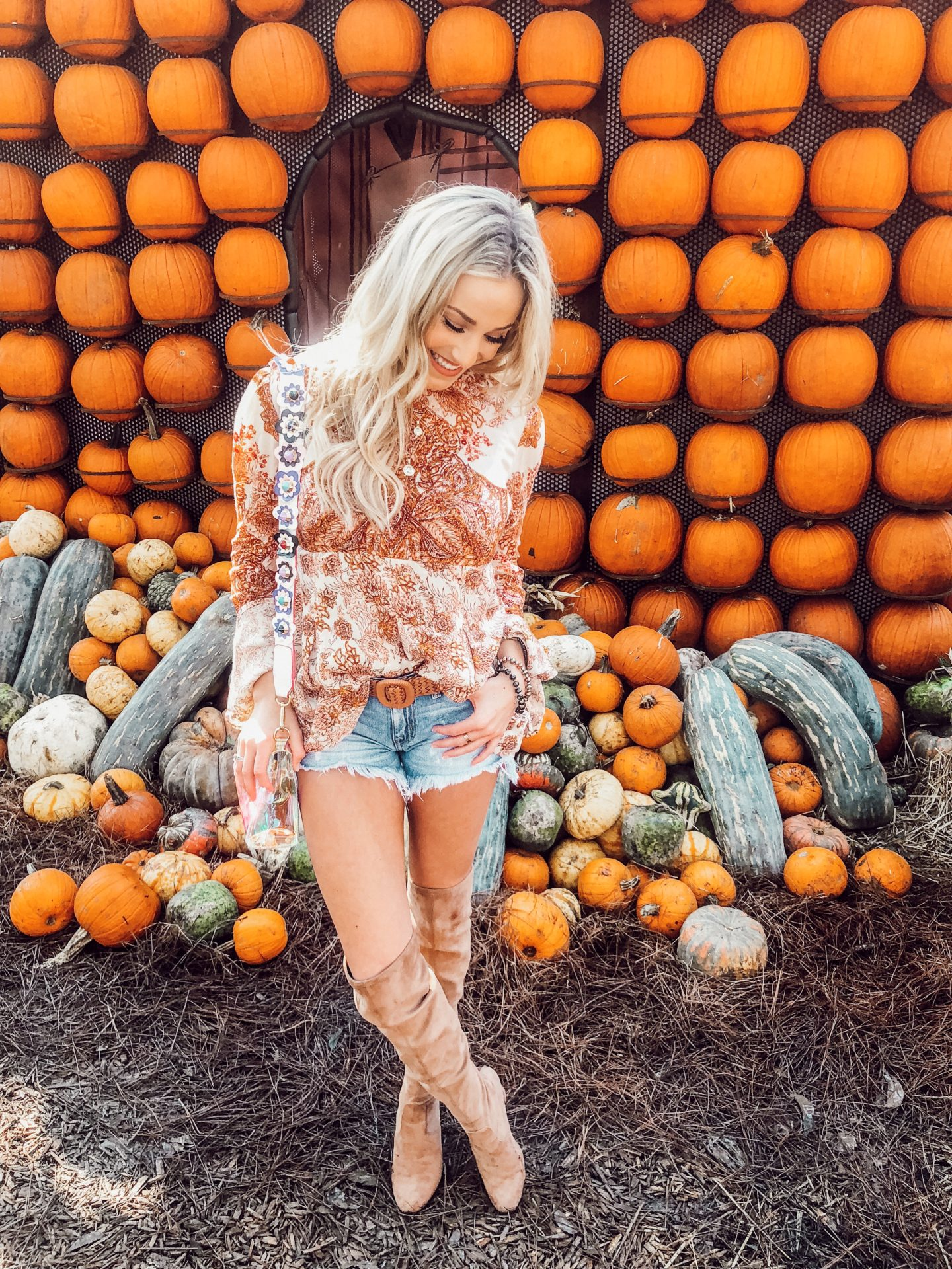 Pumpkin Patch - Dallas Fashion Model, Fashion & Lifestyle Blogger - Peyton Mabry